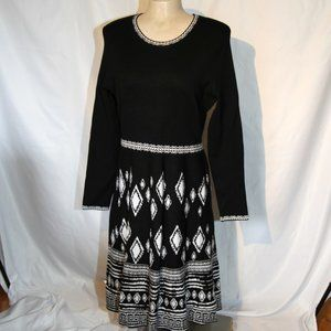 NWT black & white dress